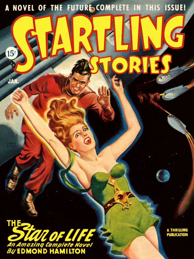Startling Stories Featuring The Star Of Life