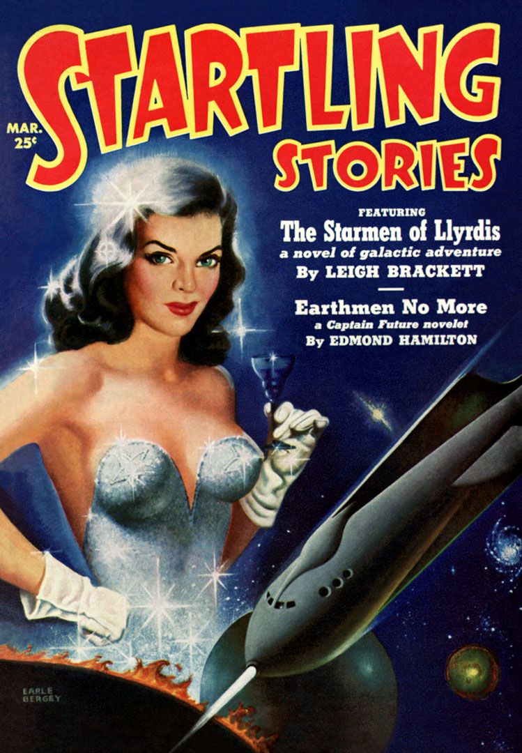 Startling Stories Featuring The Starmen Of Lyrydis