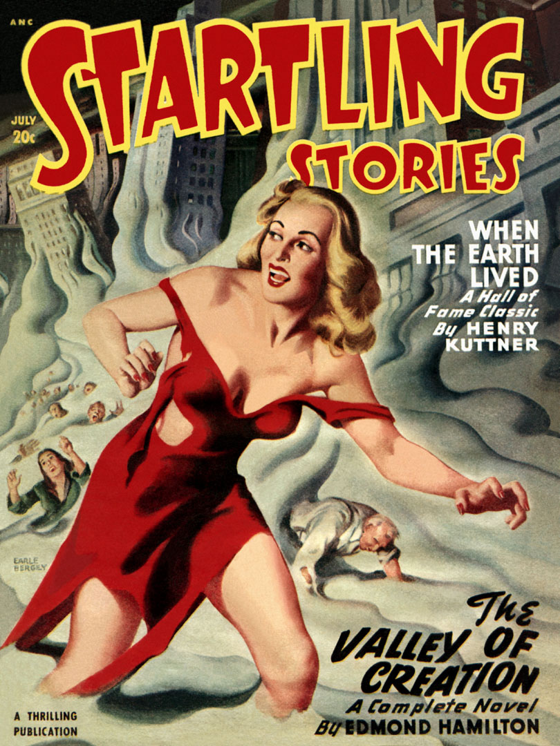 Startling Stories Featuring The Valley Of Creation