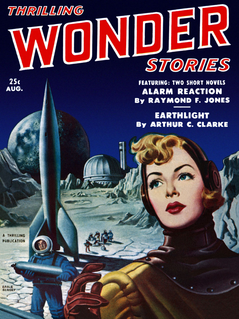 THRILLING WONDER STORIES February, April, November 1953