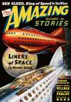 amazing stories featuring the liners of space