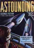 astounding science fiction rocket ship