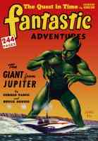 fantastic adventures featuring the giant from jupiter