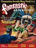 fantastic adventures featuring the prince of mars returns