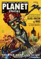 planet stories featuring black amazon of mars