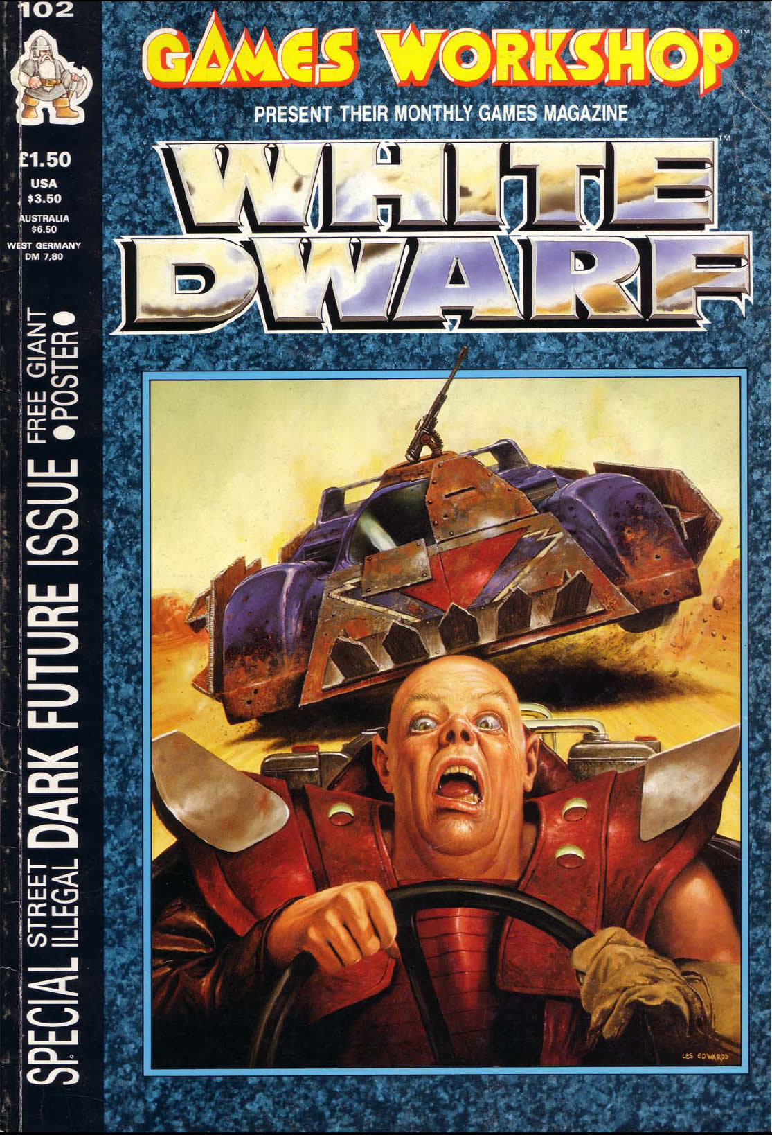 Realm of Chaos 80s: Acceptable in the '80s: White Dwarf 102