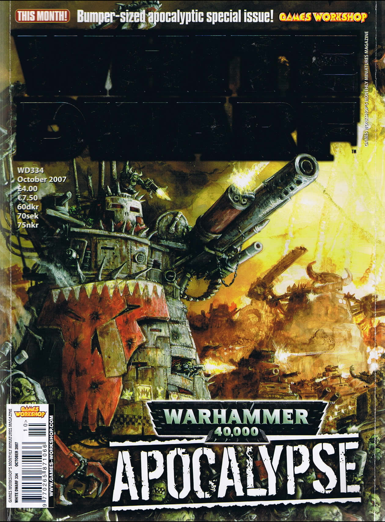 White Dwarf Magazine (page 3) - Pics about space