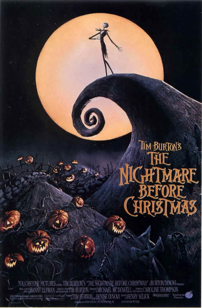 THE NIGHTMARE BEFORE CHRISTMAS - animated movie posters wallpaper ...