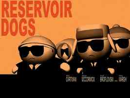 SOUTHPARK RESERVOIR DOGS