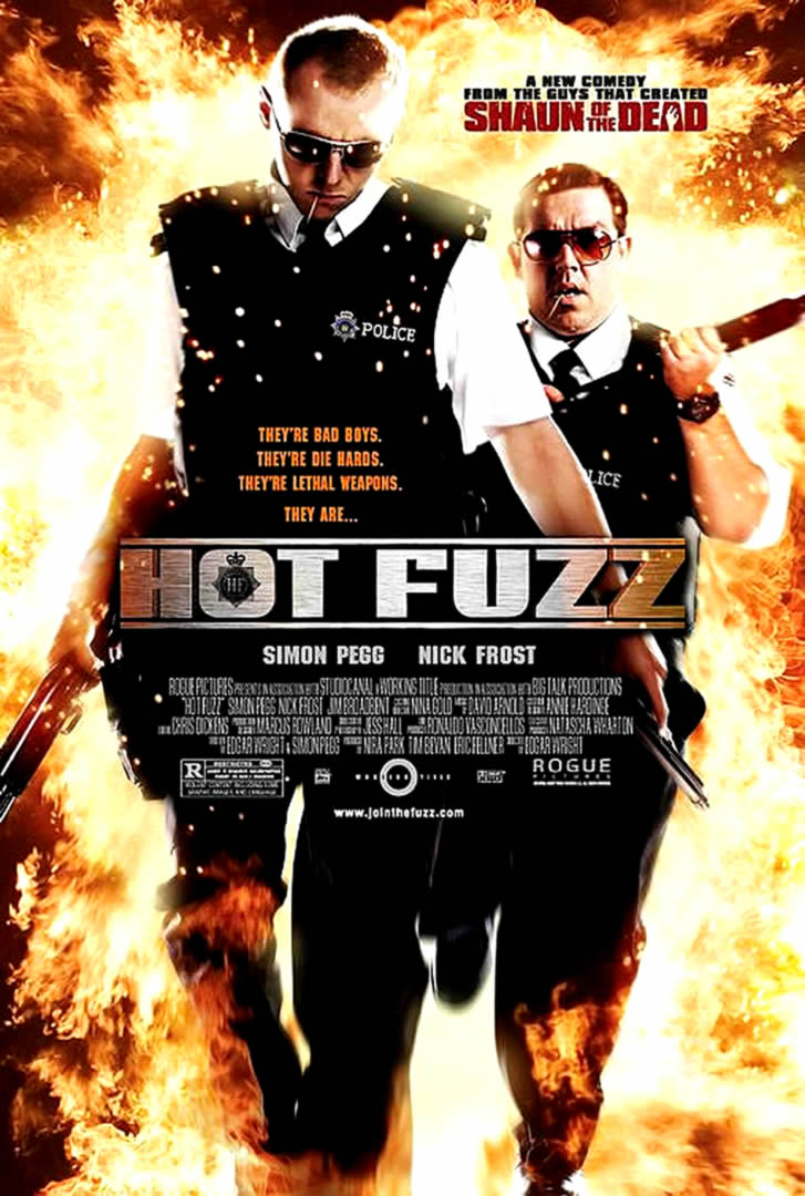 HOT FUZZ - Comedy Movie Posters