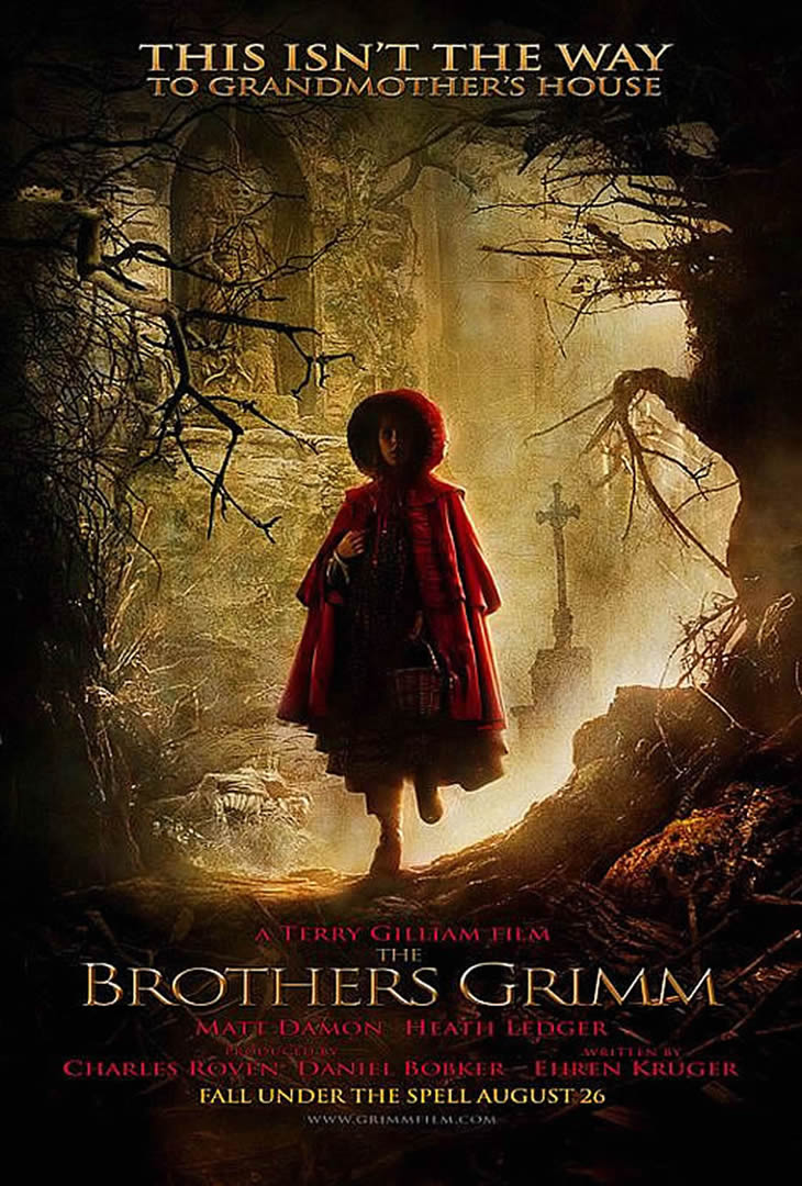 the brothers grimm fantasy movie posters