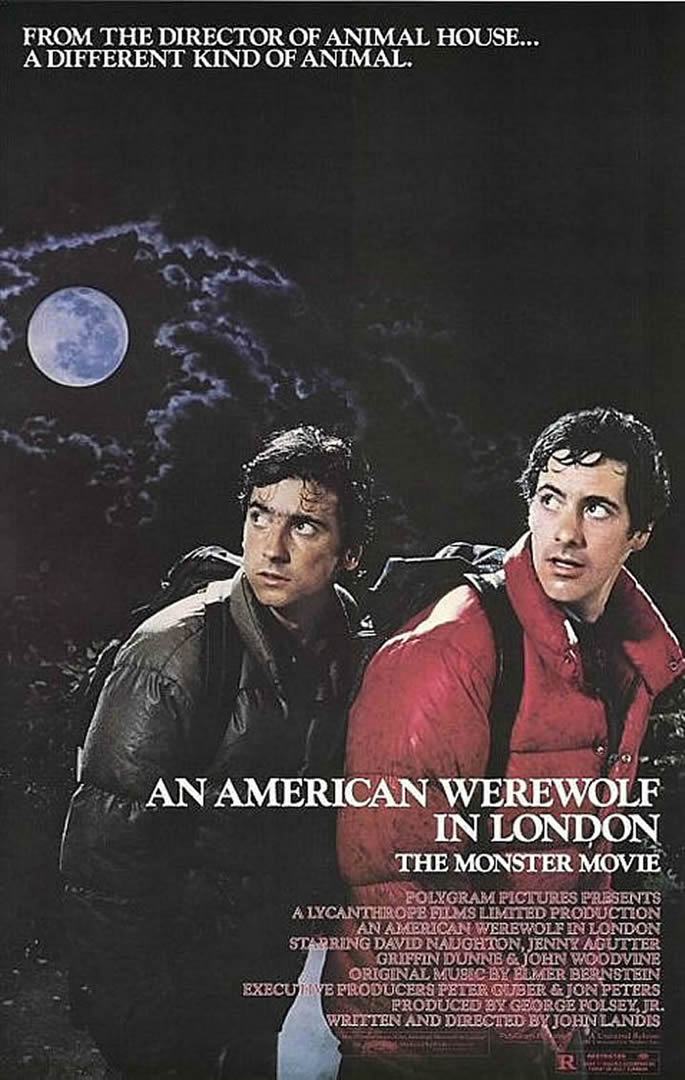 AN AMERICAN WEREWOLF IN LONDON Portrait