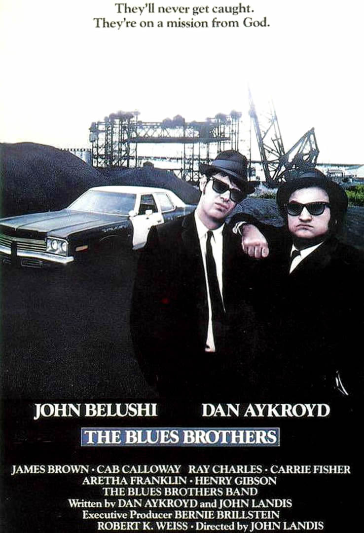 the blues brothers musical movie posters