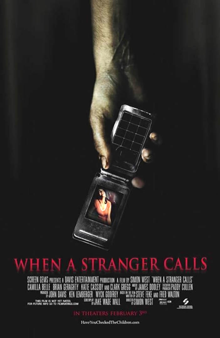 When A Stranger Calls Remake Movie Posters