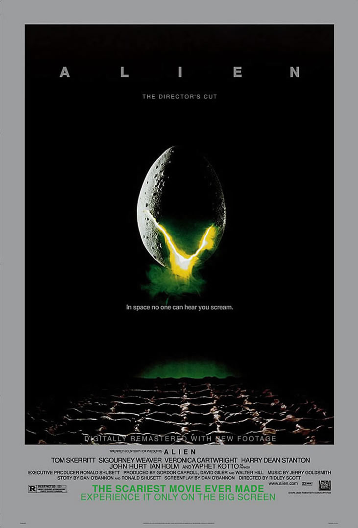 alien movie poster original - photo #34