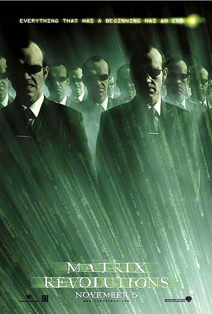 an analysis of the matrix revolutions movie The oracle says it clearly in revolutions boards entertainment movies all movie boards the matrix trilogy the best explanation of the matrix.