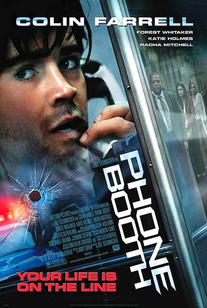 phone booth thriller movie posters