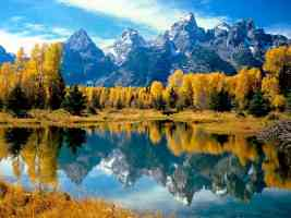 Autumn Grandeur Grand Teton National Park Wyoming