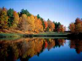 Autumn Reflections Vermont