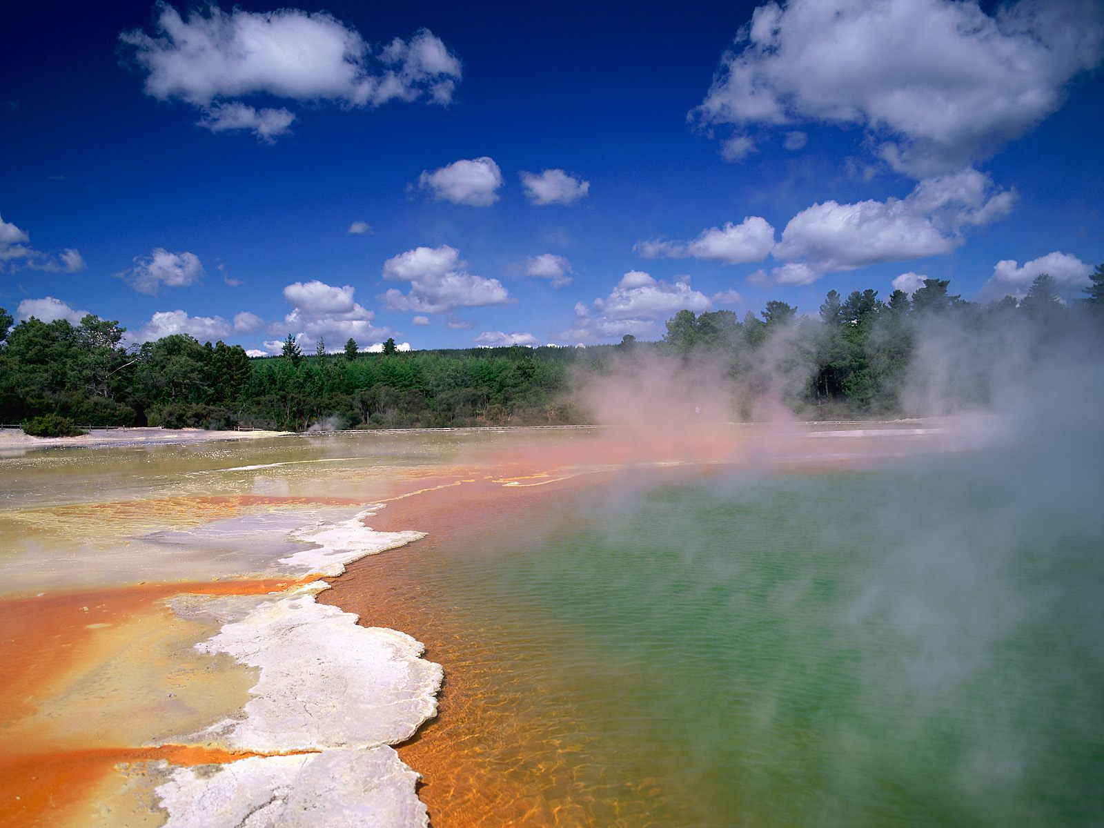 Champagne Pool Waiotapu Thermal Area North Island New Zealand