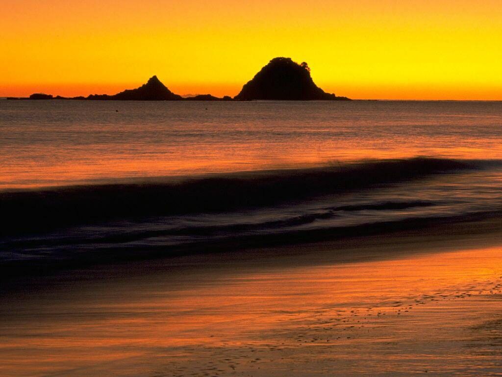 Sunrise Coromandel Peninsula