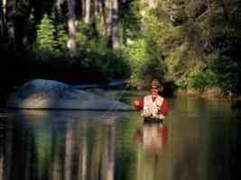 Quiet Time fishing Highland Creek Sierra Nevadas