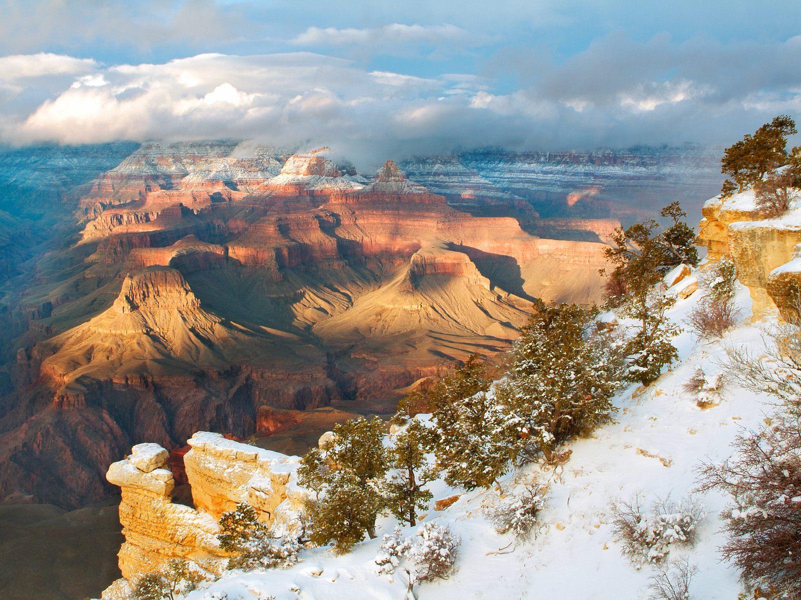 Clearing Winter Grand Canyon National Park Arizona