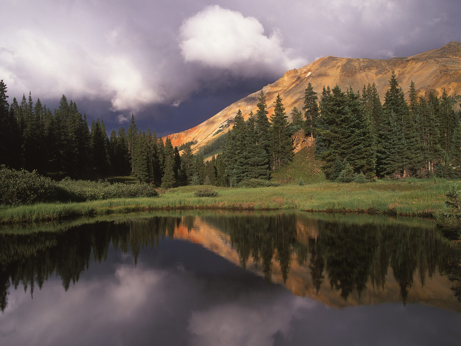 Red Mountain Uncompahgre National Forest Colorado
