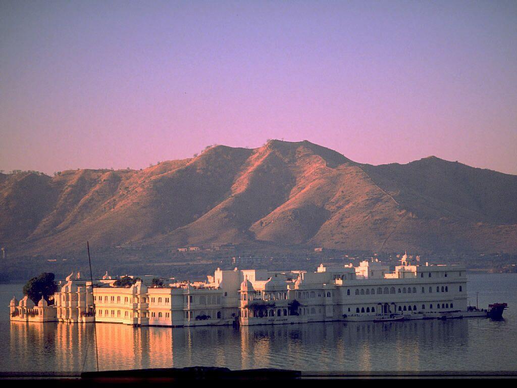 The Lake Palace Rajasthan India