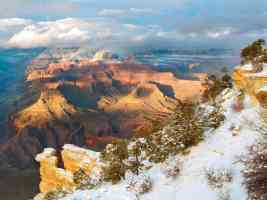 Clearing Winter Grand Canyon National Park Arizona
