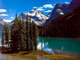 canadian rockies Maligne Lake