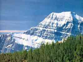 canadian rockies mount edith cavell