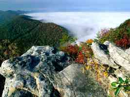 Fog Cumberland Gap National Historical Park Kentucky