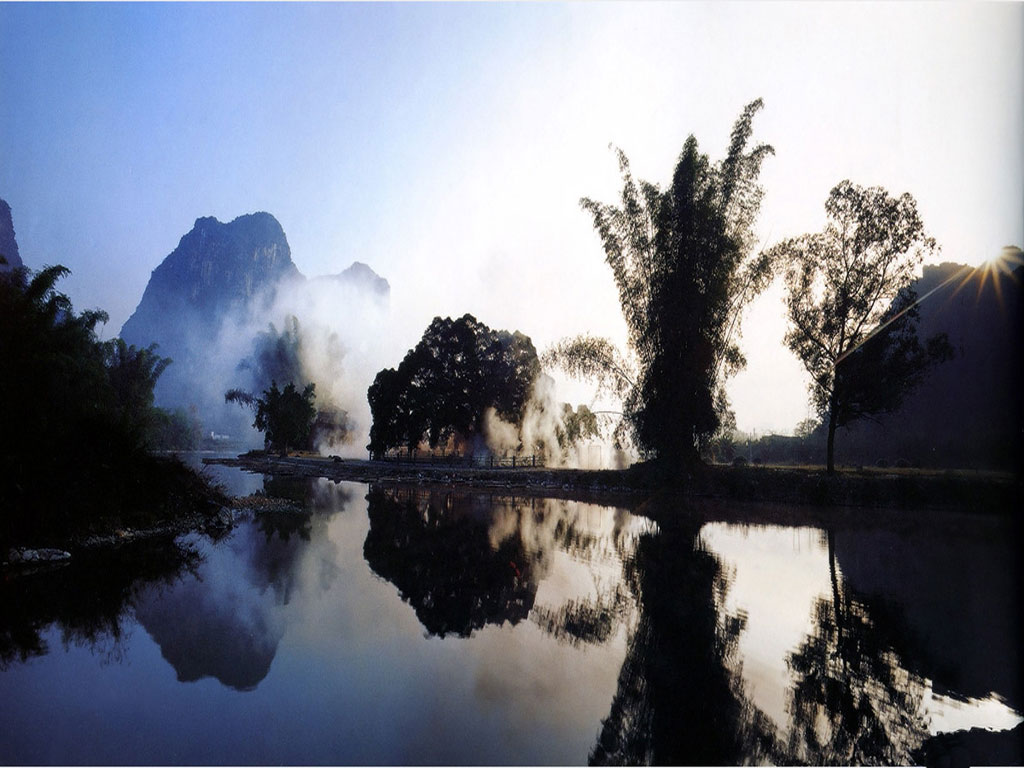 River In The Mist China