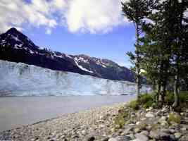 Child s Glacier Cordova Alaska
