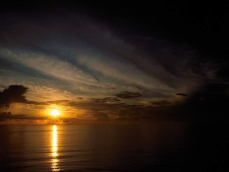Golden Sunset Guam