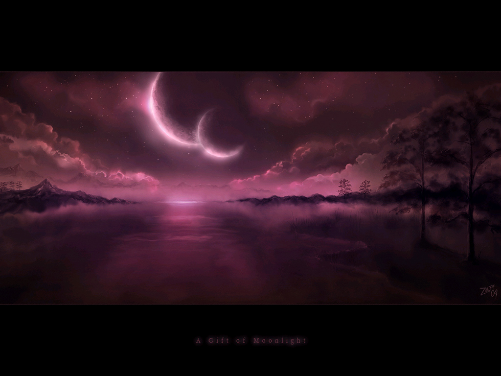 a gift of moonlight wallpaper -#main