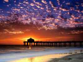 Colorful Sky Manhattan Beach California