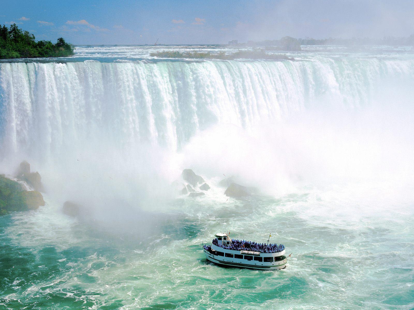 Maid Of The Mist VII Niagara Falls Ontario Canada