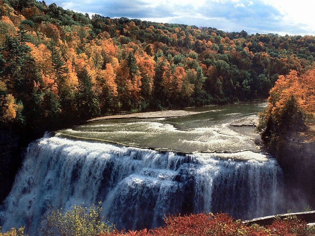 Middle Falls Letchworth State Park