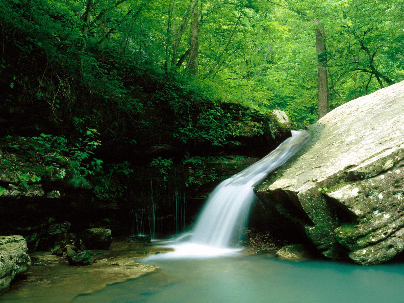River Indian Creek Buffalo National River Arkansas