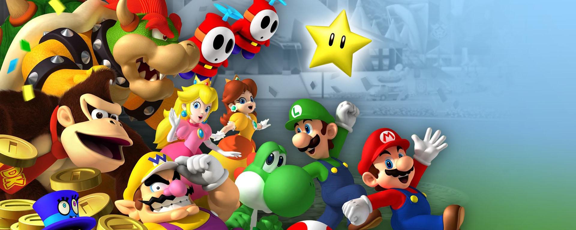 Mario Party Dual Screen