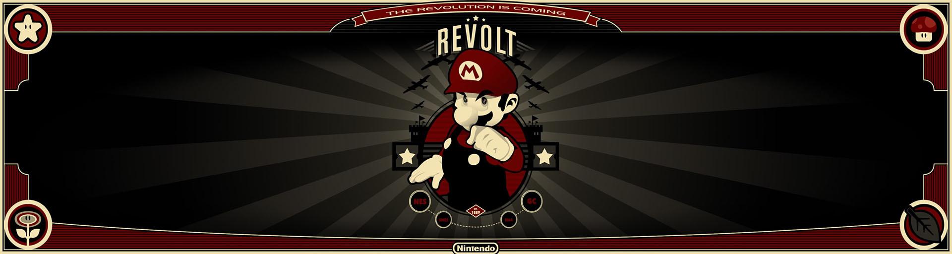 Mario Revolt Dual Screen