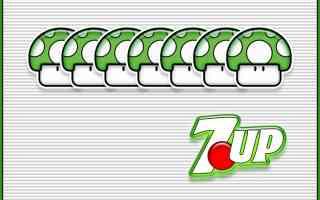 green mushroom 7Up