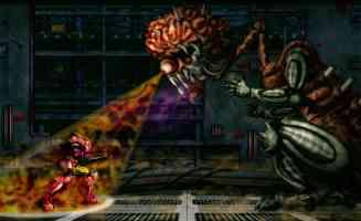 samus fighting the mother brain