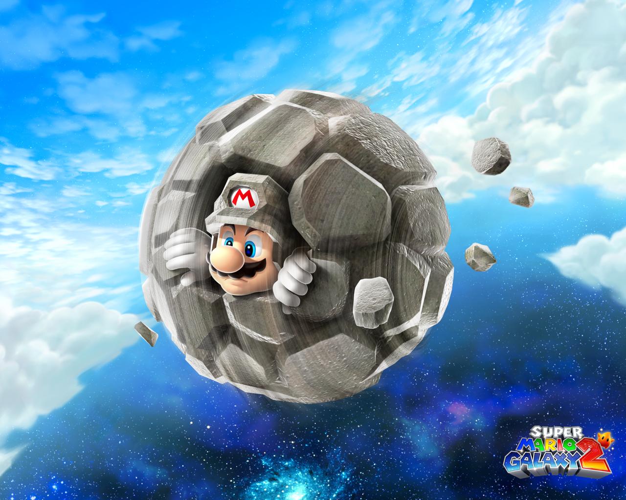 Mario Stone Planet