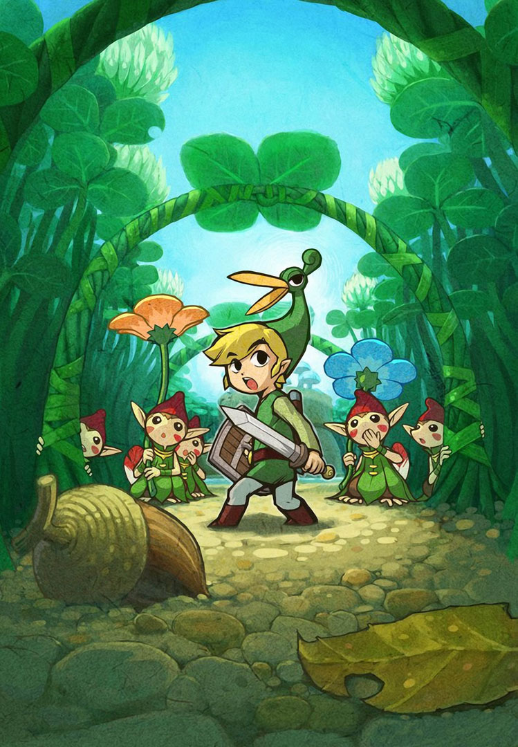 Link In The Minish Cap