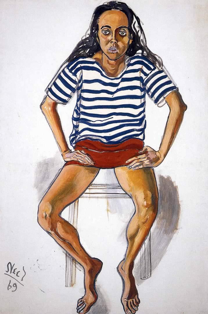 Ginny In Striped Shirt
