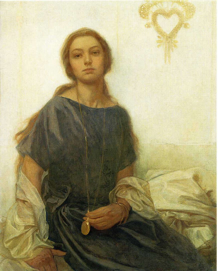Portrait Of Jaroslava