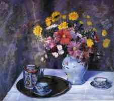 imari tea set